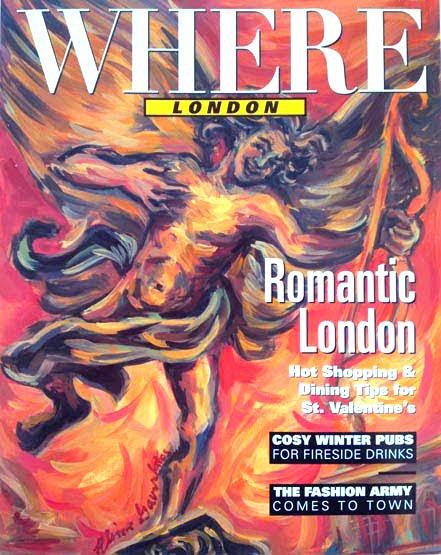 The Where Magazine Cover