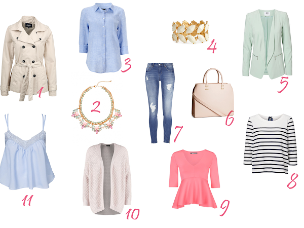 spring inspiration | shopping tips