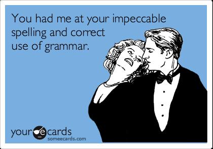Grammar: Write it Right