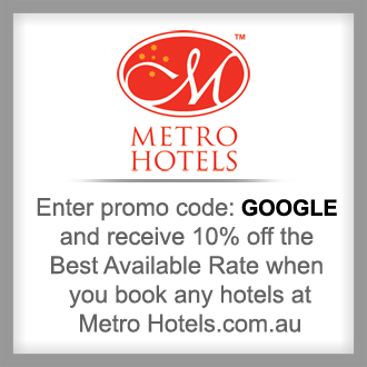Discounted Accommodation From Metro Hotels