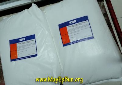 Một loại polymer cho máy ép bùn (CPAM) Công thức (C3H5ON)n