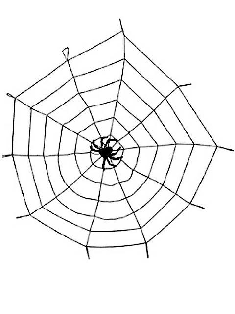 halloween pynt edderkopspind