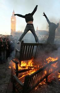 Disturbios en Londres en agosto de 2011
