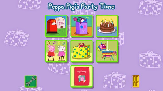 Peppa Pig's Party Time app