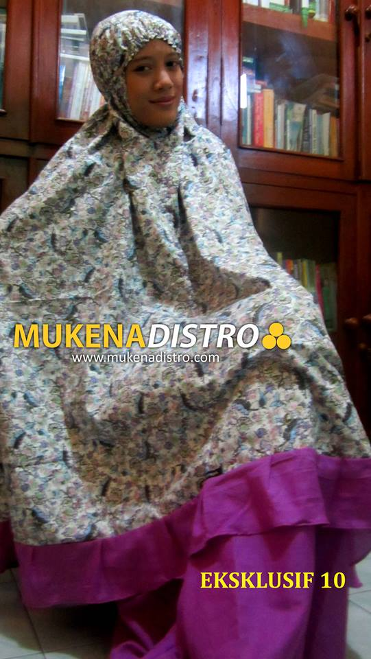 MUKENA DISTRO | EKSKLUSIF 10 | READY