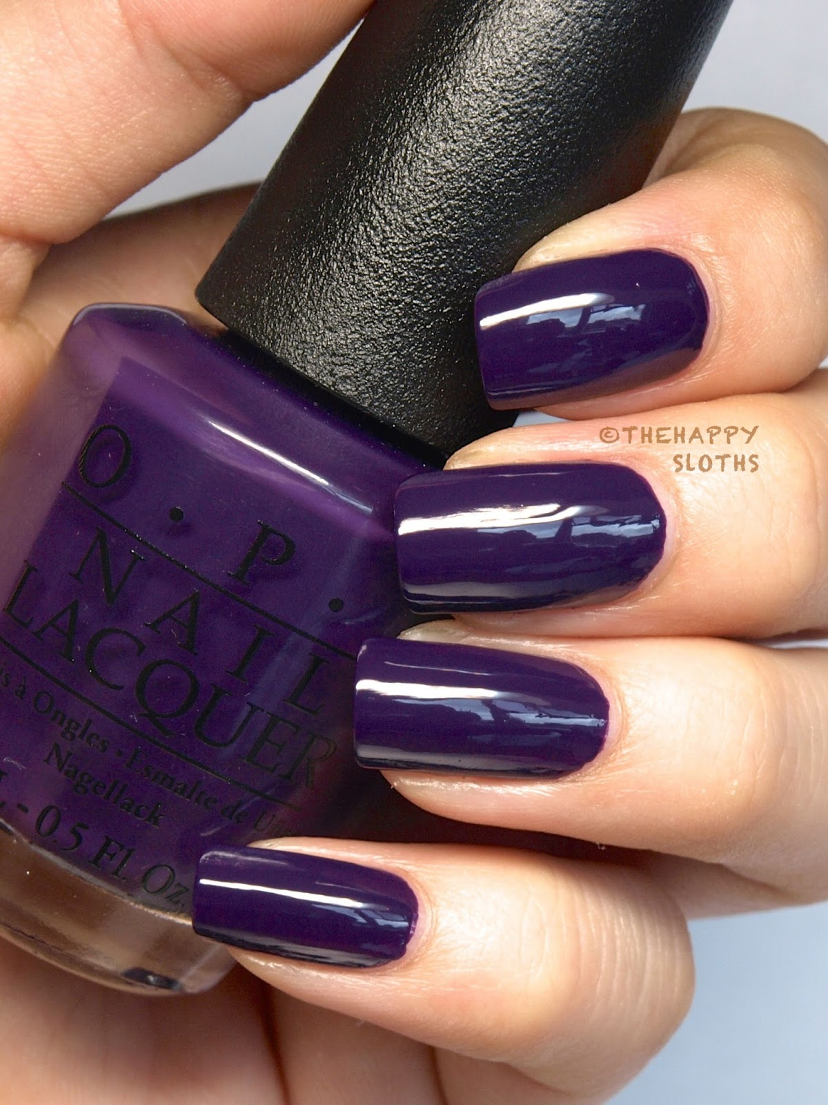 opi coca cola nail polish review swatches a grape affair