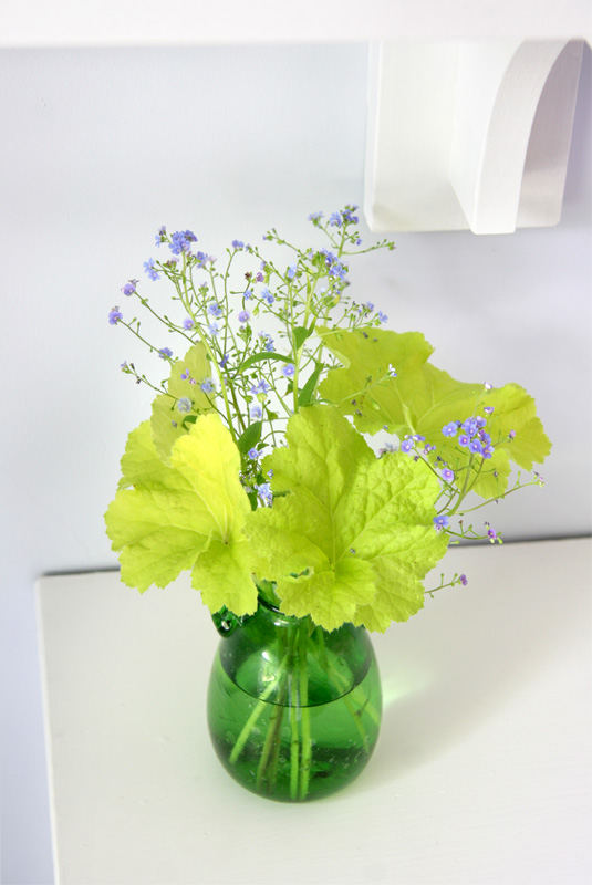 Simple Heuchera arrangement