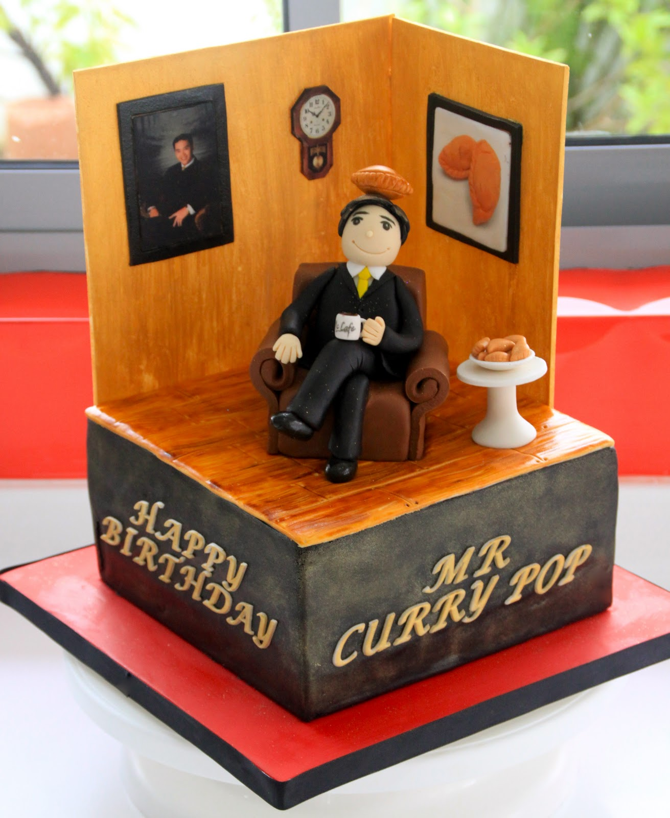 Celebrate With Cake Mr Curry Puff Room Cake