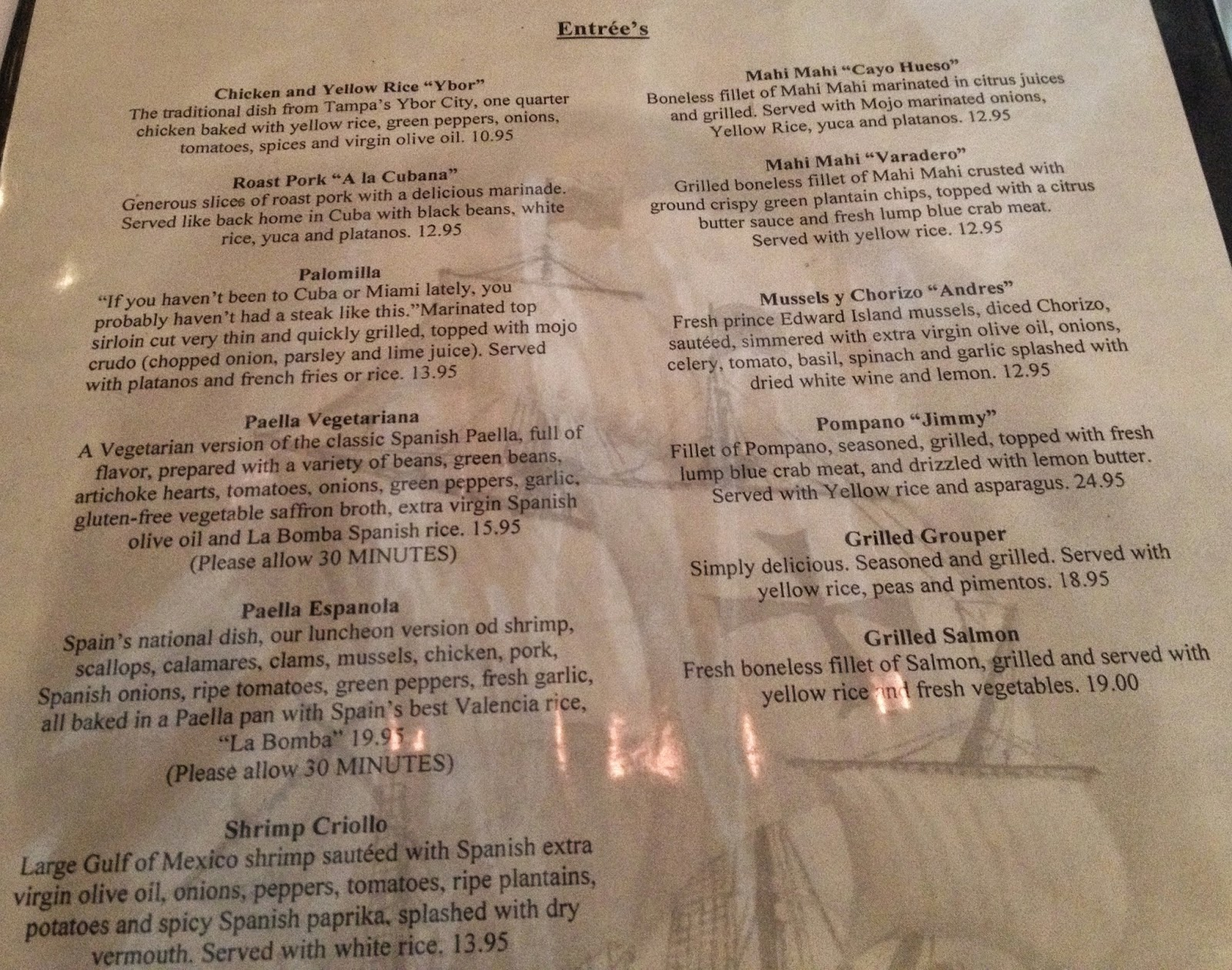 The Gluten & Dairy-Free Review Blog: Columbia Restaurant Gluten Free ...