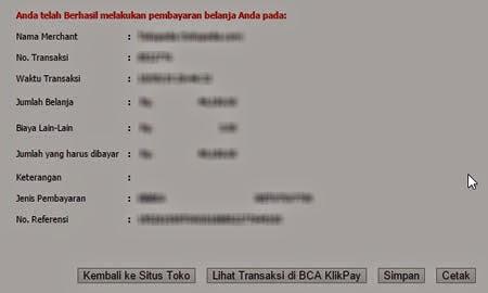 Cara Bayar Menggunakan KlikPay BCA