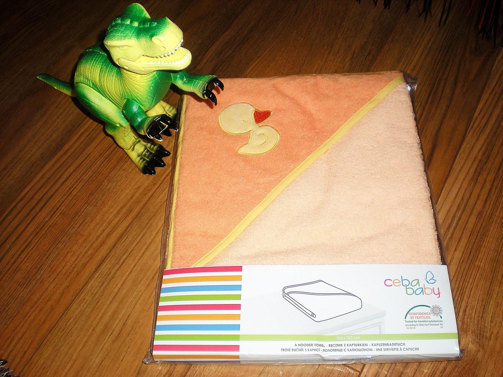 Ręcznik z kapturkiem CebaBaby