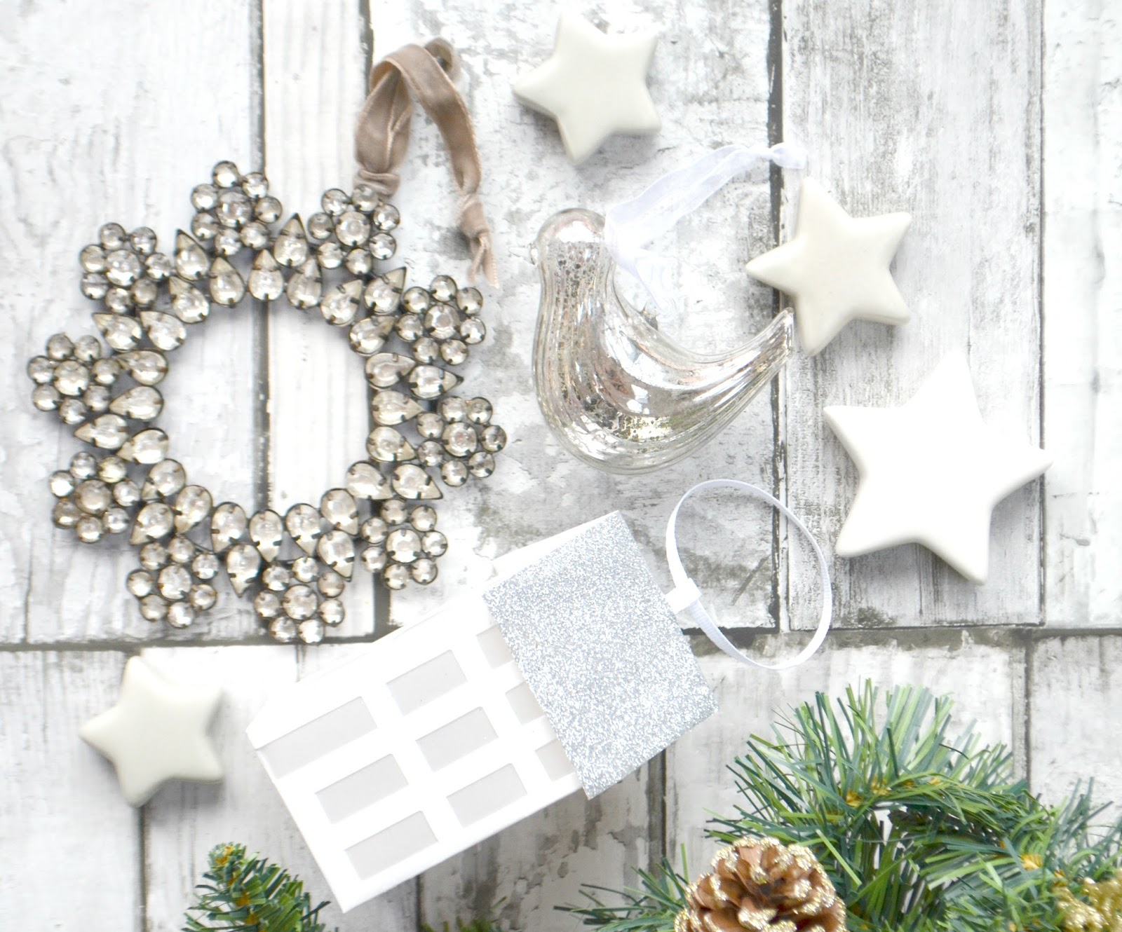 Favourite Christmas Decorations: The White Company | Blog Me Beautiful