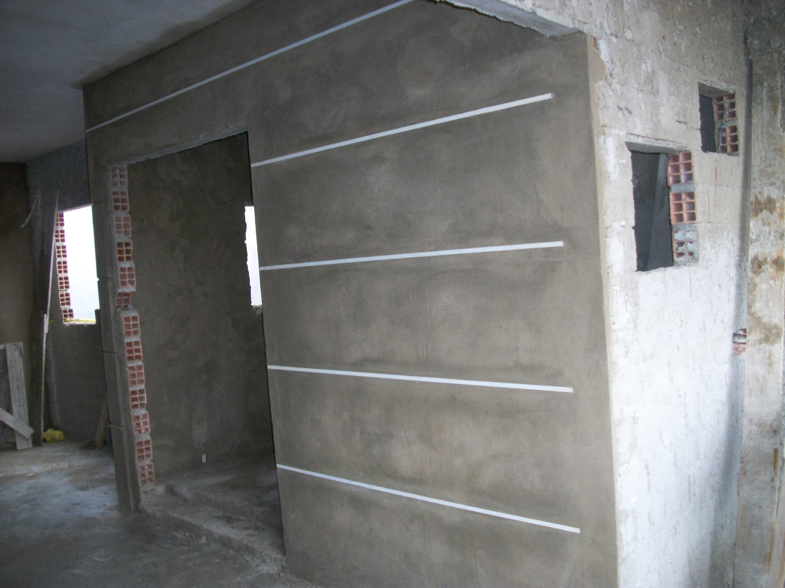 Deus e minha casa nichos e frisos de alum nio - Frisos para paredes ...