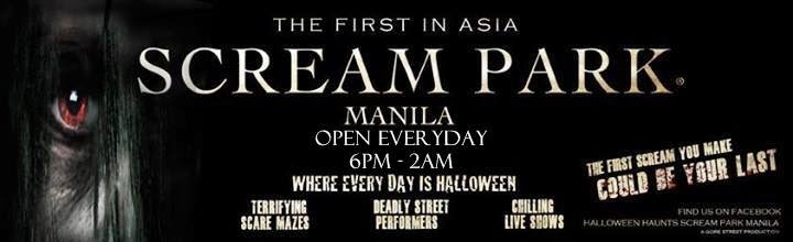 Halloween Haunts Manila Scream Park is NOW OPEN at Macapagal Avenue