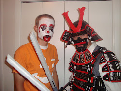 Samurai vs Clown