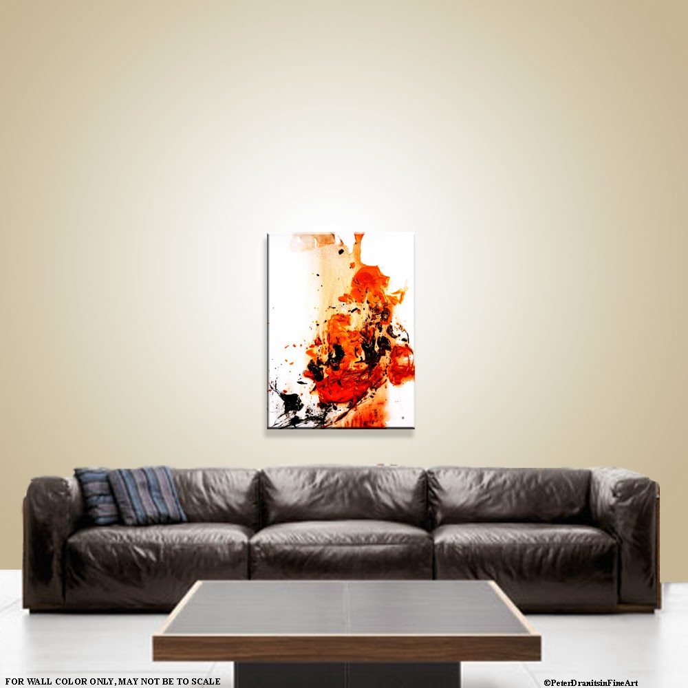 Abstract art modern painting techniques by dranitsin for Interactive room painting