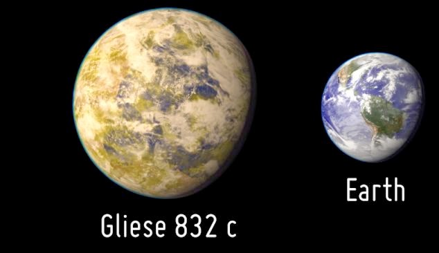 super earth gliese 832c alien planet extra terrestrial extraterrestrial life