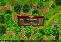 Perihelion: screen z ekranu logowania do gry