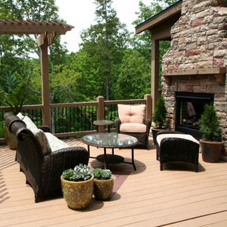 Landscape Design Ideas Outdoor Deck Decor For Summer