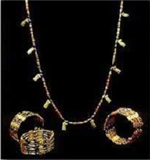 Beautiful jewelry from ancient Egypt