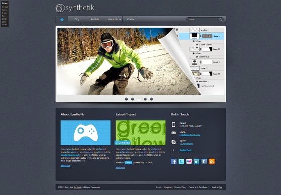 Synthetik - HTML Template