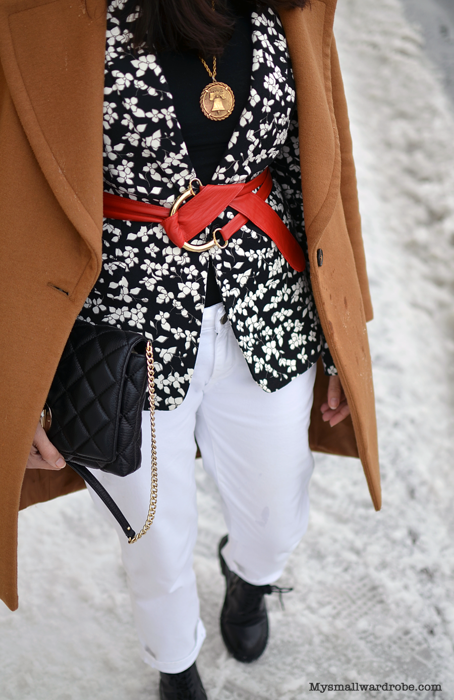 How to wear floral in winter