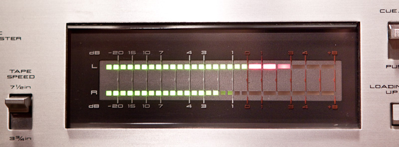 Индикатор уровня записи или