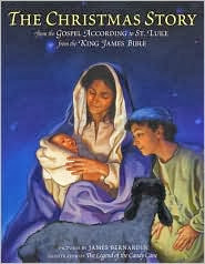 http://www.amazon.com/Christmas-Story-Gospel-According-James/dp/0060288825/ref=sr_sp-atf_title_1_1?s=books&ie=UTF8&qid=1385582020&sr=1-1&keywords=The+Christmas+Story+from+the+Gospel+According+to+St.+Luke+from+the+King+James+Bible.