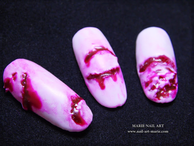Nail Art The Walking Dead5