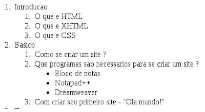 Como criar sites em HTML