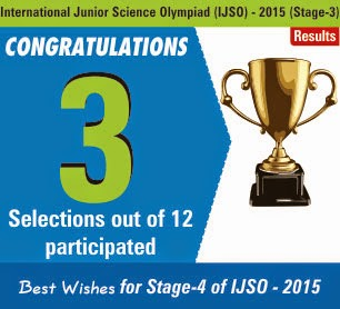 Tremendous performance by resonites in IJSO Stage-3