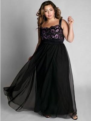 Imagenes de vestidos de noche para gorditas jovenes