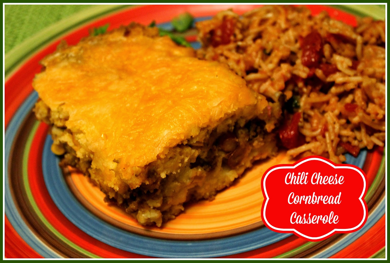 cornbread casserole with cheese