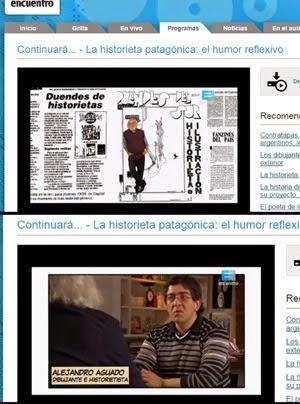 En el programa CONTINUARÁ, canal Encuentro