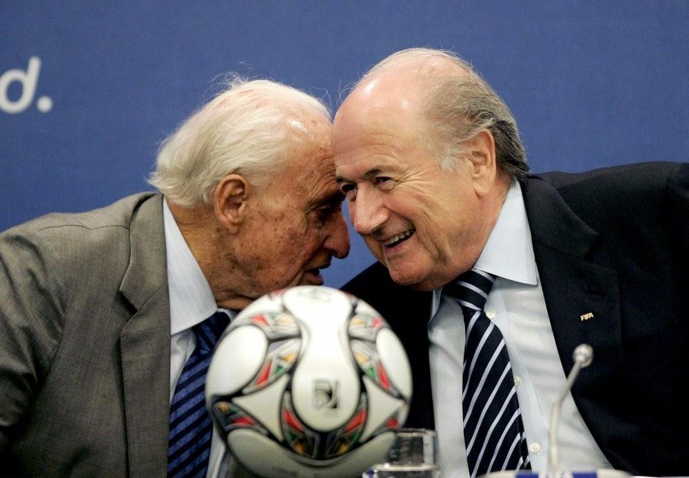 João Havelange & Sepp Blatter.