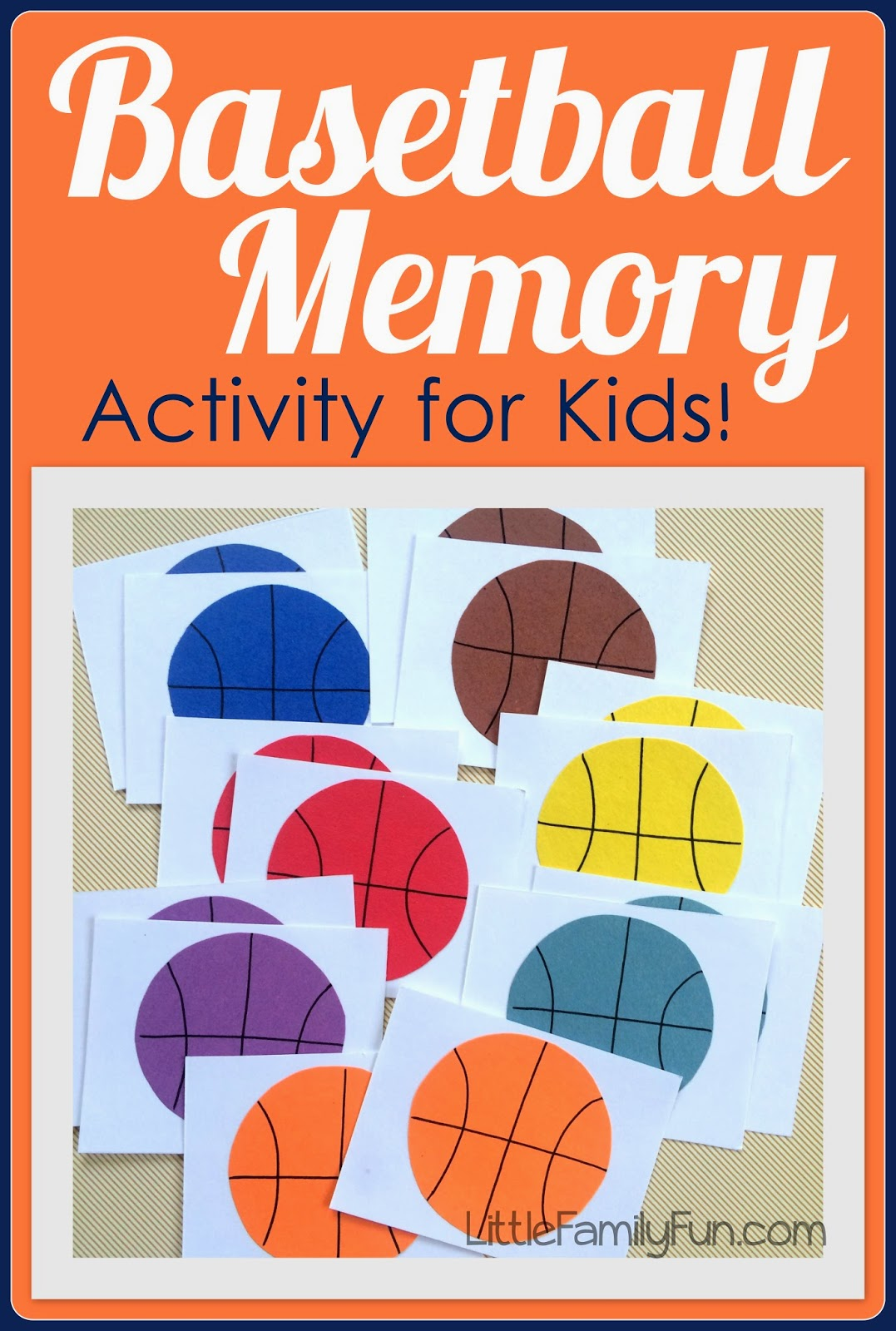Basketball Memory Game