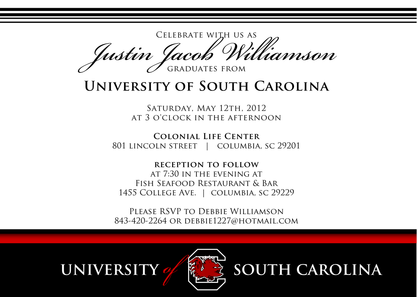 graduation ceremony invitation templates free .
