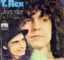 T Rex Jeepster single