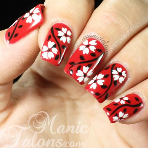 Akzentz Gel Play Floral Manicure