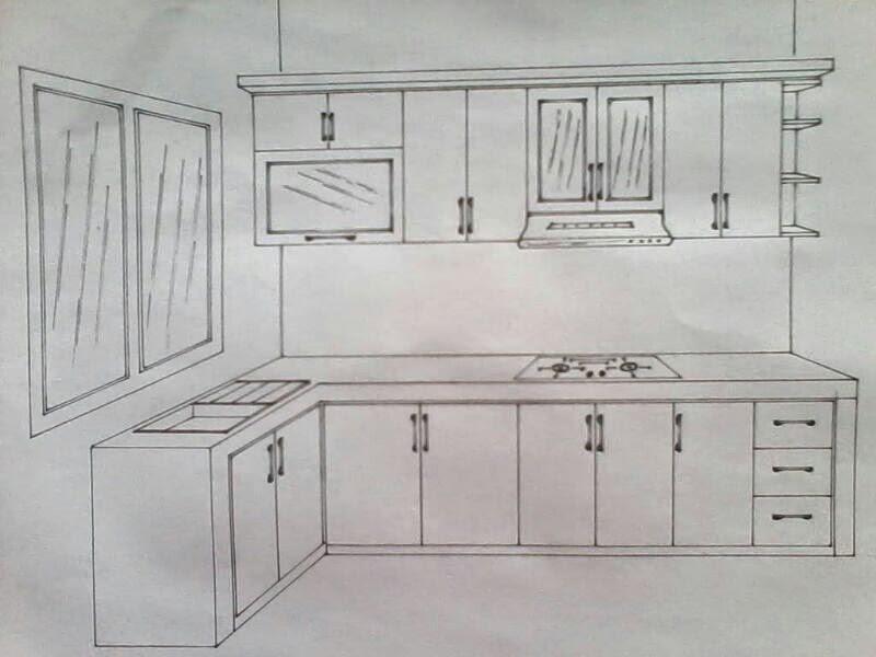 Jasa kitchen set harga kitchen set murah bagus for Kitchen set bagus
