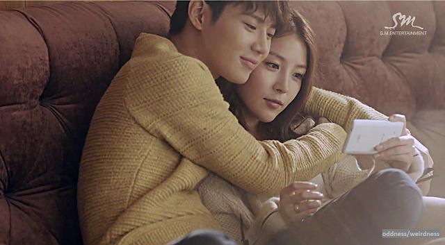 BoA Disturbance mv screencap feat. Taemin 2