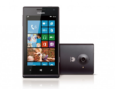 Huawei Ascend W1, Smartphone Windows Phone 8 Pertama Huawei
