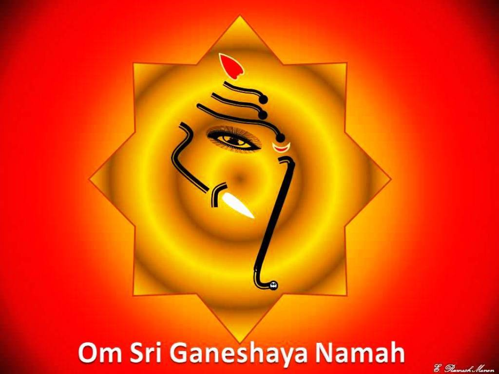 Team 1 Talent Share: Art work - Om Sri Ganeshaya Namah