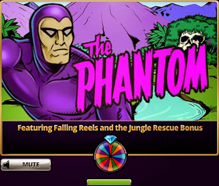The Phantom Hit It Rich! Casino Slots has Falling Wheels and Jungle Rescue Bonus