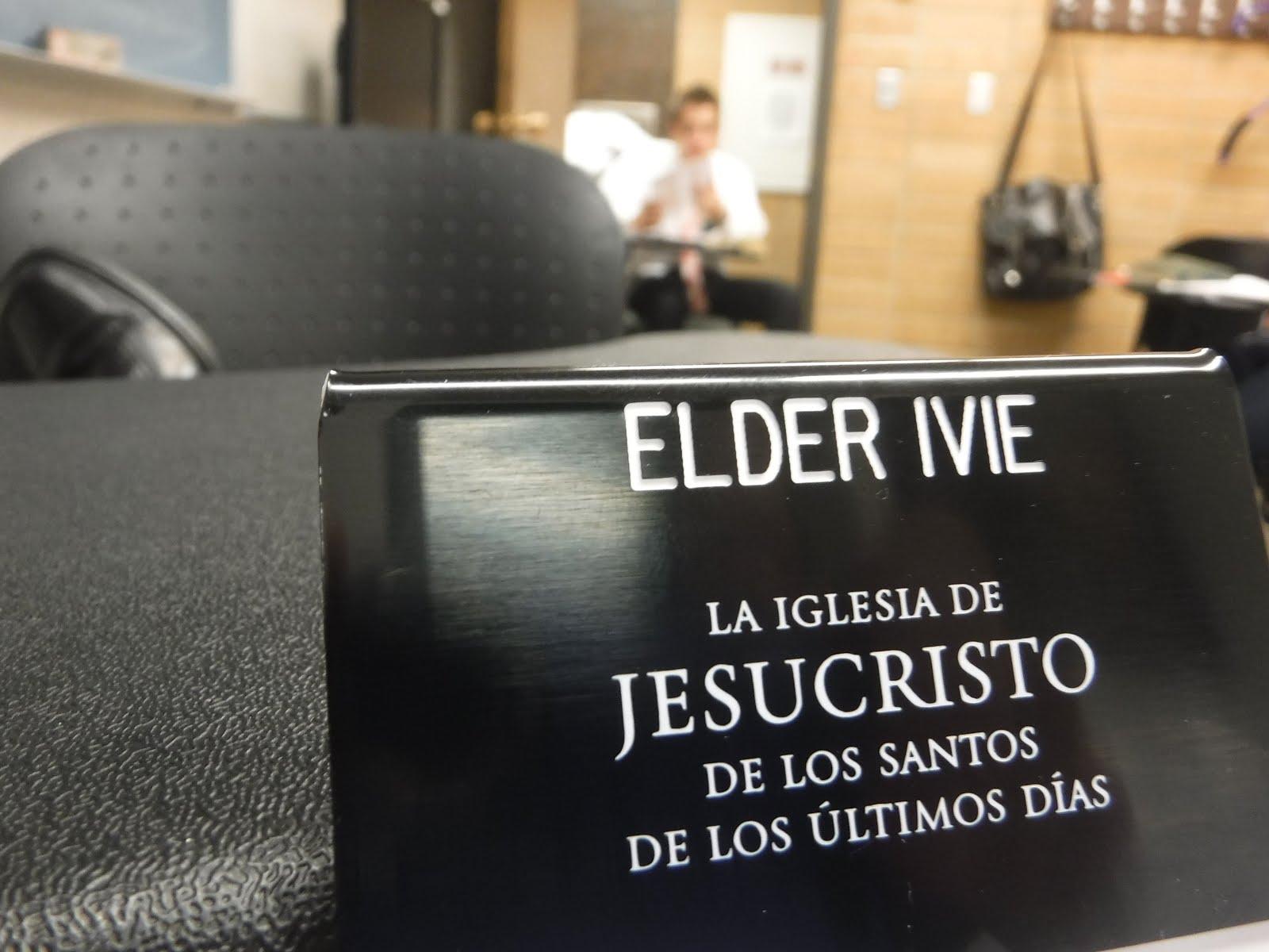 Elder Ivie