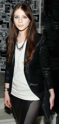 Michelle Trachtenberg Layered Beaded Necklace
