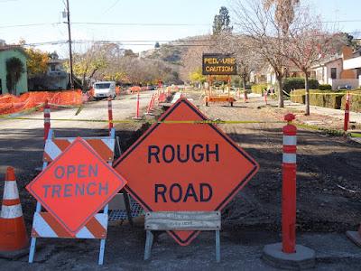 12th and Vine Streets, 12-12-2015, Road Construction, © B. Radisavljevic