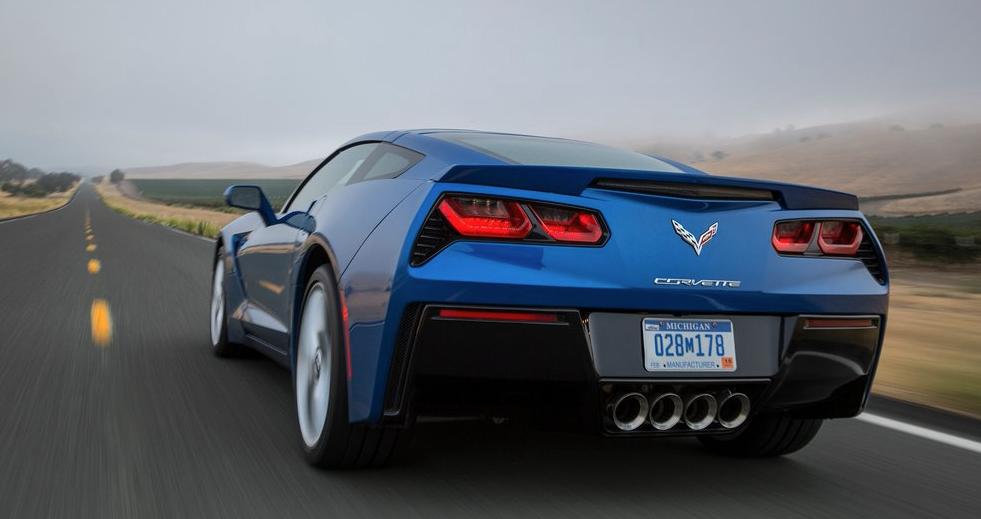 2014 Chevrolet Corvette Stingray C7 blue