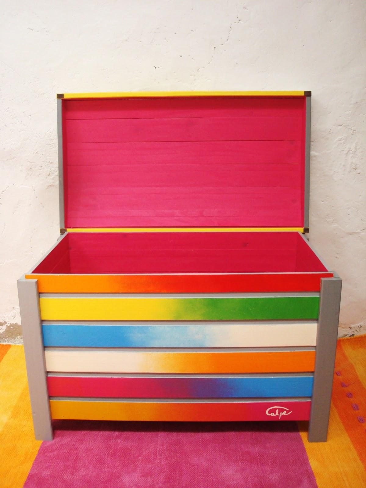 Calpearts muebles y accesorios pintados a mano for Muebles pintados a mano