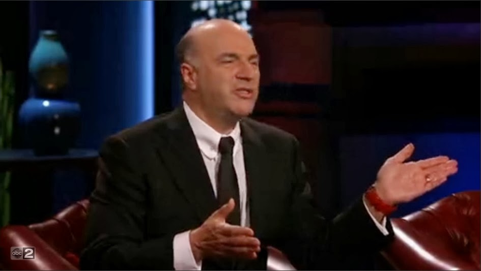 shark tank kevin o'leary bow tie